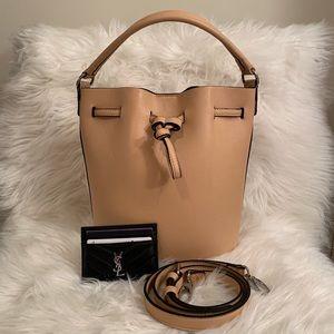 Tan F21 Bucket Bag
